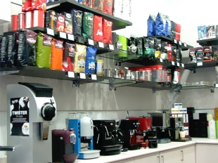 Coffee Express Israel present its collcetion of coffee beans and espresso machines